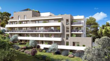 Programme Neuf Parc Bel Azur Antibes