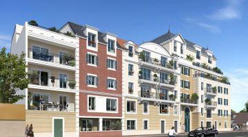 Programme Neuf Les Terrasses d'Alembert Le Blanc-Mesnil