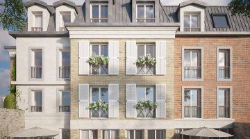 Programme Neuf Villa des cerisiers Issy-les-Moulineaux